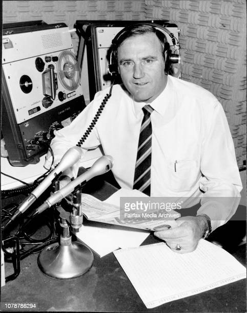 Interview with Reg Gasnier at the ABC Studios in William St September 21 1984