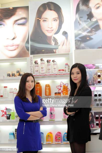Interview with Sabrina Jensen Product Manager of Skincare of L'Oreal and Anthea Look Assistant Product Manager of Cosmetics of L'Oreal in Tsuen Wan...
