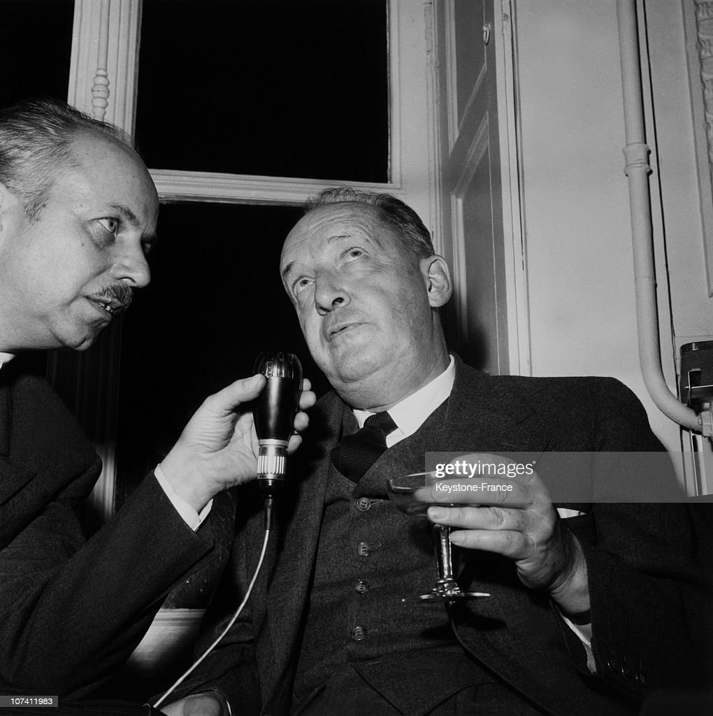 1959. Interview With The Russian Writer Vladimir Nabokov : News Photo