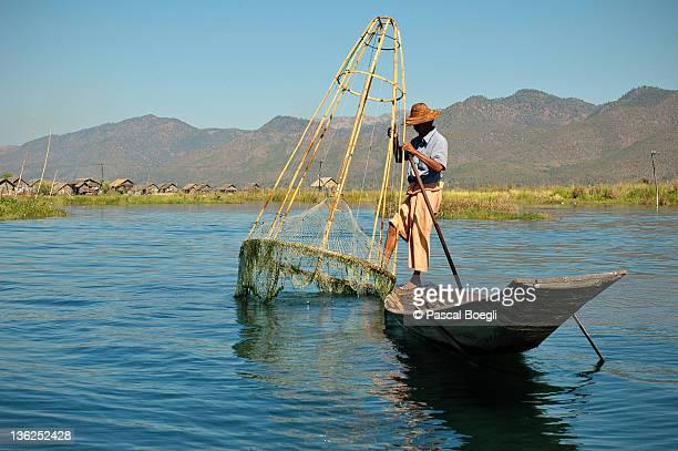 Intha fisherman - Inle Lake