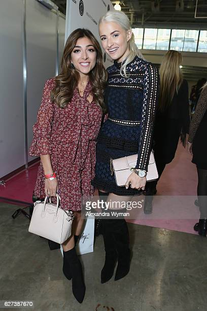InTheFrow and Amelia Liana attend Beautycon Festival London 2016 at Olympia London on December 3 2016 in London England