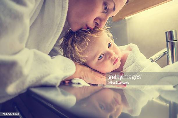 intimacy - hot mom stock photos and pictures