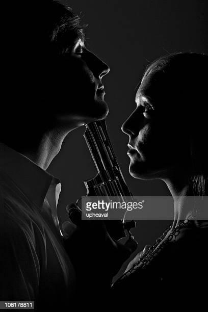 intimista homicide series - armamento - fotografias e filmes do acervo