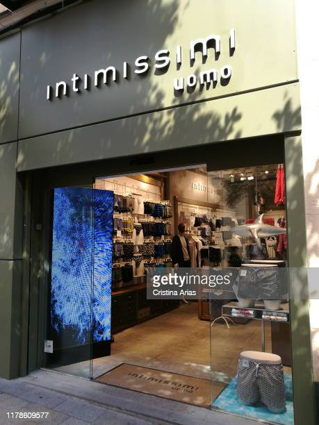 Intimissimi lingeri shop in Fuencarral street in Madrid Spain