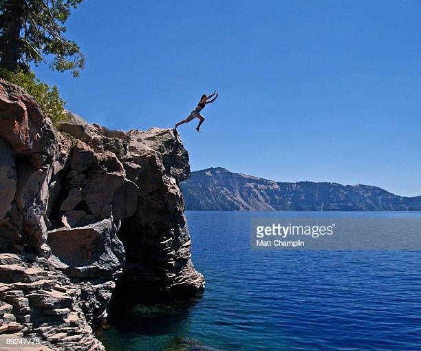 Into the Blue of Crater Lake