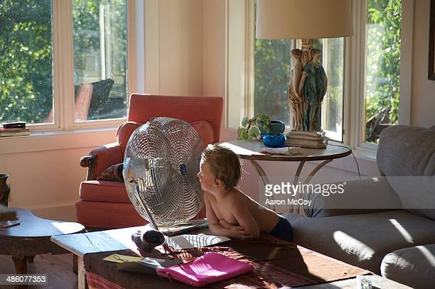 Into the fan