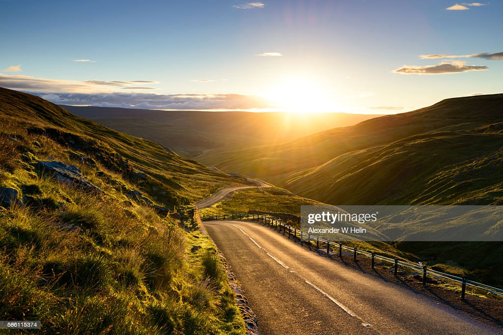Into the new day : Stock Photo
