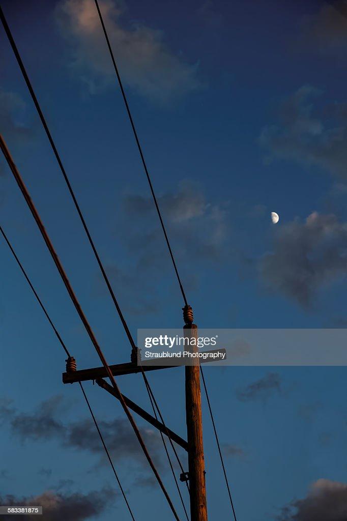 Into the Night : Stockfoto