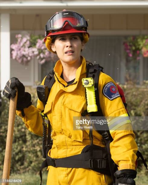 """Into the Wildfire"""" - The members of Station 19 pack their gear and head to Los Angeles, California, to help battle a deadly wildfire raging out of..."""