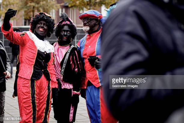 Intocht Sinterklaas te Apeldoorn during the Intocht Sinterklaas te Apeldoorn at the Apeldoorn on November 16 2019 in Apeldoorn Netherlands