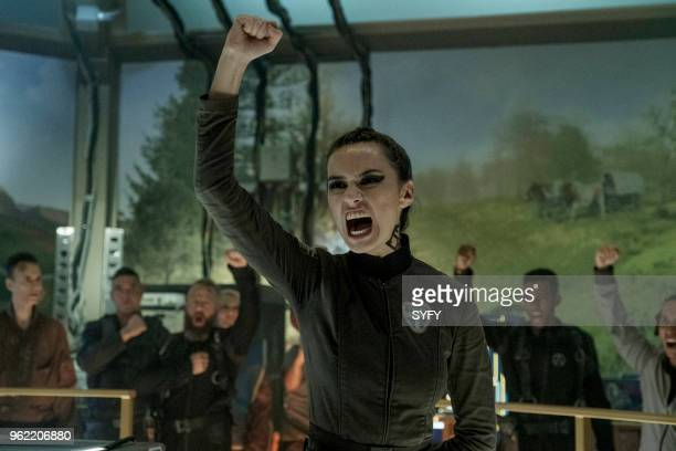 THE EXPANSE Intransigence Episode 309 Pictured Cara Gee as Drummer