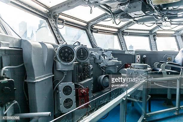 USS Intrepid Battleship's Bridge