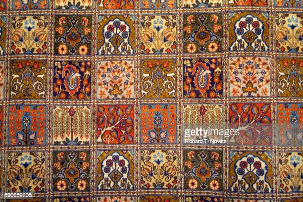 Intricate Designs on Egyptian Rug
