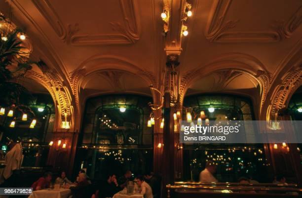 Intérieur Art Nouveau de la Brasserie Excelcior à Nancy France