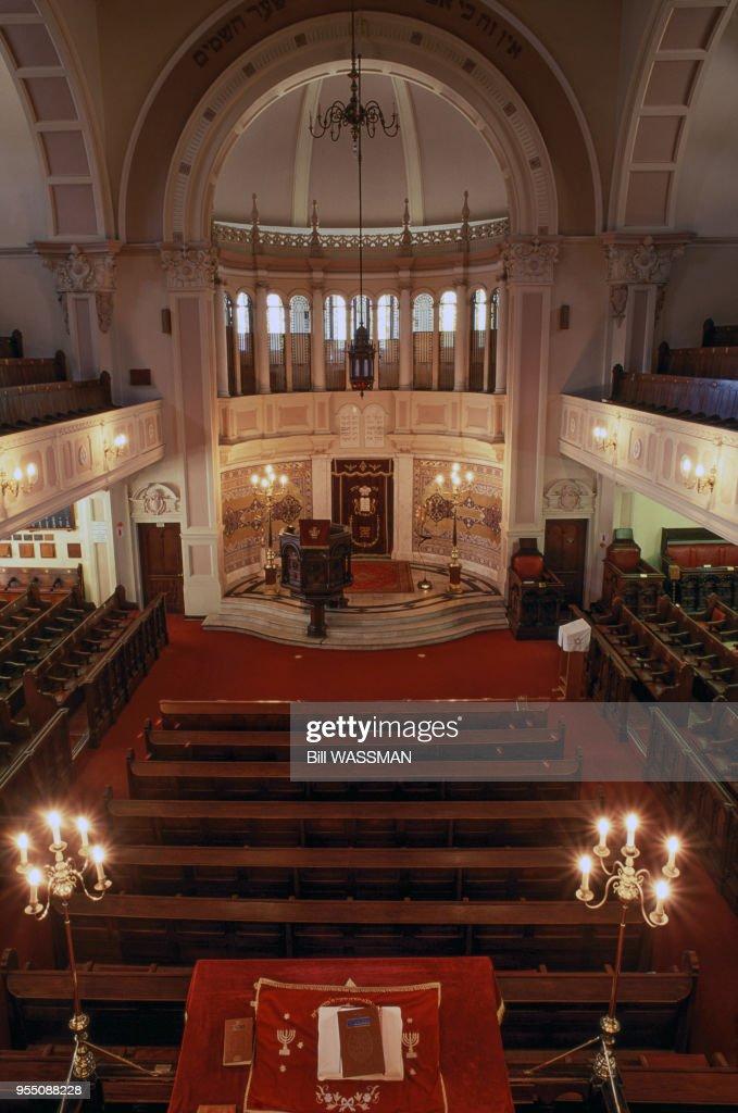Intérieur de la Grande Synagogue à Cape Town Pictures | Getty Images