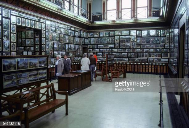 Intérieur de la Marianne North Gallery dans les jardins botaniques royaux de Kew à Londres RoyaumeUni