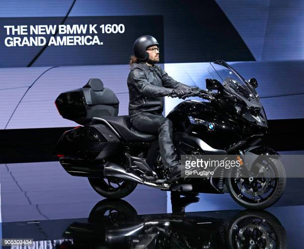 BMW introduces the new BMW K1600 Grand America at the 2018 North American International Auto Show January 15 2018 in Detroit Michigan More than 5100...