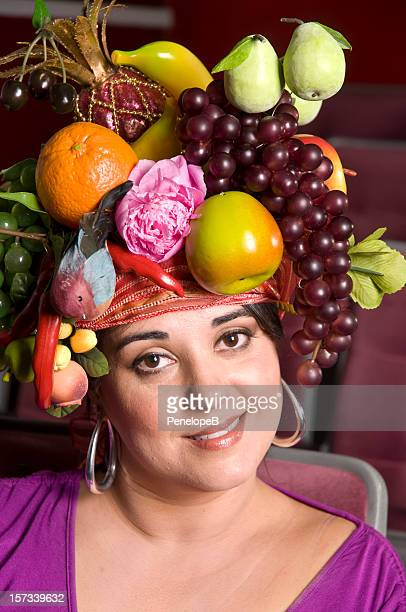 introducing carmen - headdress stock pictures, royalty-free photos & images
