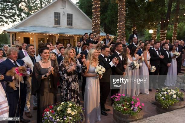 RULES 'Introducing Mr Mrs Schwartz' Episode 521 Pictured Lisa Vanderpump Pandora VanderpumpTodd Stassi Schroeder Tom Sandoval Jax Taylor Brittany...