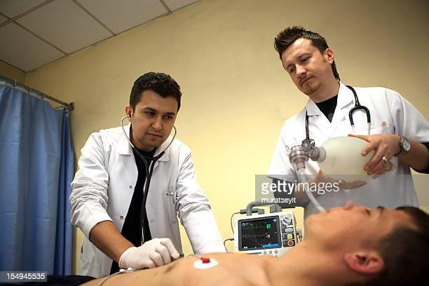 Intubation eines Patienten