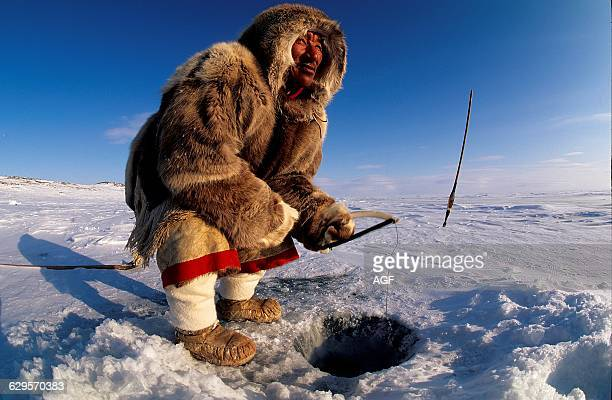 60 Top Eskimo Fishing Pictures, Photos and Images - Getty Images