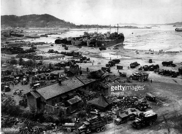 Invasion of Inchon, September 15 Korean War, Washington, National Archives.