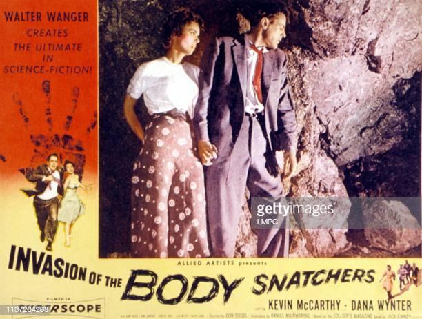 Invasion Of The Body Snatchers lobbycard Dana Wynter Kevin McCarthy 1956