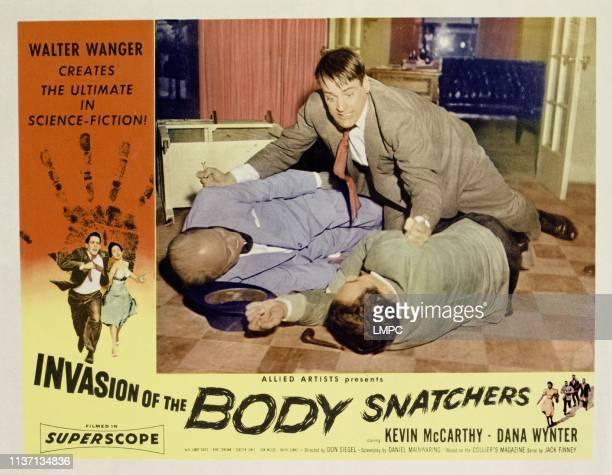Invasion Of The Body Snatchers lobbycard Kevin McCarthy Dana Wynter Kevin McCarthy 1956