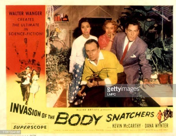 Invasion Of The Body Snatchers poster King Donovan Dana Wynter Carolyn Jones Kevin McCarthy 1956