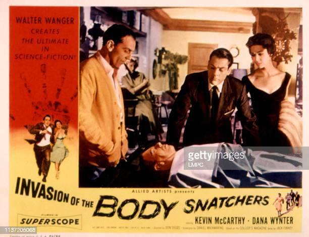 Invasion Of The Body Snatchers poster King Donovan Kevin McCarthy Dana Wynter 1956