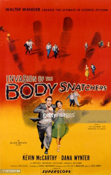 Invasion Of The Body Snatchers poster poster art Kevin McCarthy Dana Wynter 1956