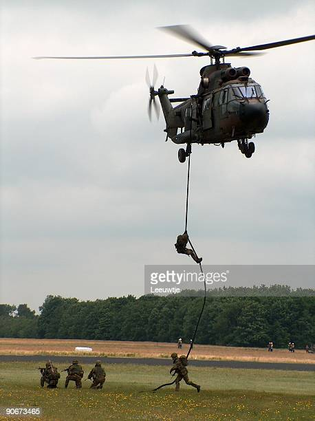 invasion with chinook - military helicopter stock photos and pictures