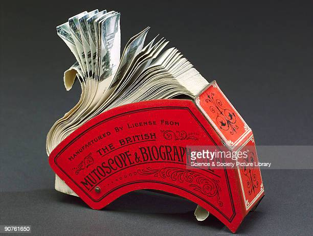 Invented by Robert W Paul's cameraman Henry W Short this was a small handheld flip book device using a lever to flip over separate pictures to give...