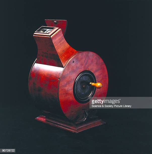 Invented by Sir Charles Wheatstone the scientist who put forward the principle of the stereoscope this device contained a band of stereoscopic...
