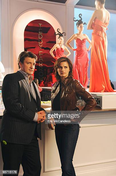 "Inventing the Girl"" - Castle and Beckett get an inside look at the cutthroat world of the New York fashion industry when they investigate the brutal..."