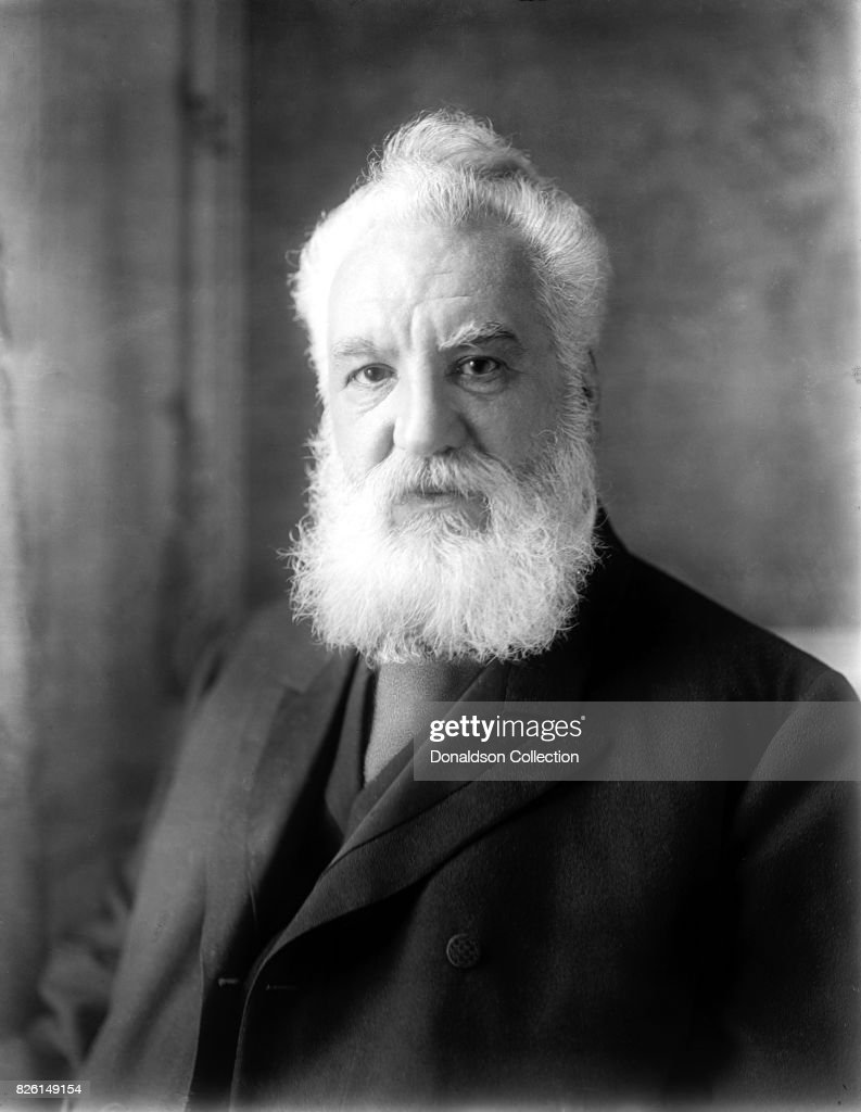 Alexander Graham Bell Portrait Pictures | Getty Images