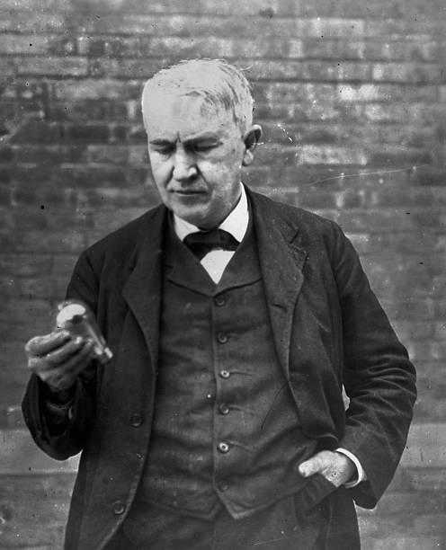 Edison And Bulb Wall Art