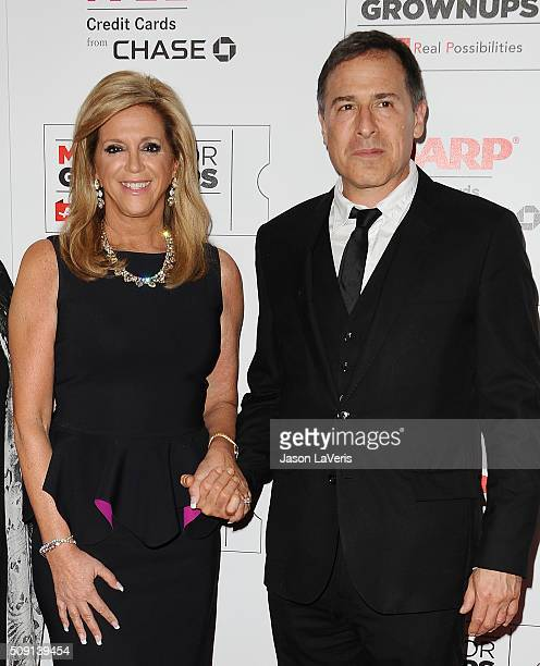 Inventor Joy Mangano and director David O Russell attend the 15th annual Movies For Grownups Awards at the Beverly Wilshire Four Seasons Hotel on...