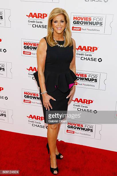 Inventor Joy Mangano attends AARP's Movie For GrownUps Awards at the Beverly Wilshire Four Seasons Hotel on February 8 2016 in Beverly Hills...