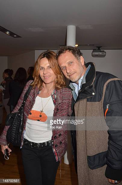 HH inventor/ Le Laboratoire fundator David Edwards and WAA/H Spray designer Philippe Starck attend the 'WAA/HH' Food Flavouring Spray By Philippe...