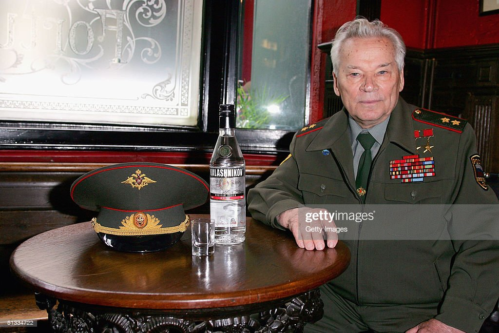 Inventor of the AK-47 assault rifle, General Mikhail