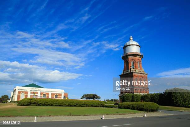 invercargill water tower - invercargill stock pictures, royalty-free photos & images