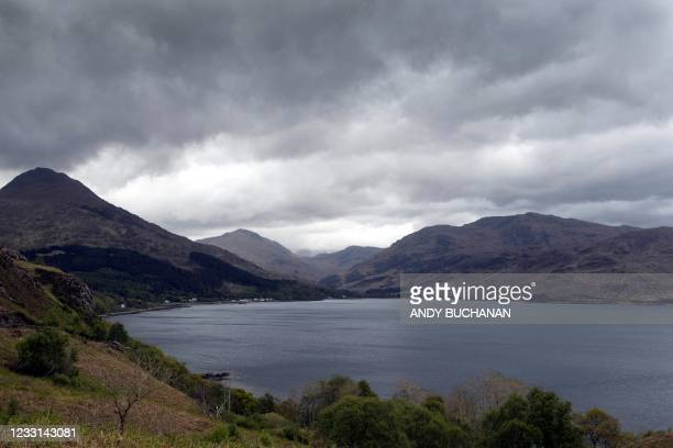Inverie on the Knoydart peninsular, home to the The Old Forge pub ownded by Jean-Pierre Robinet, is pictured across Loch Nevis in the Scottish...