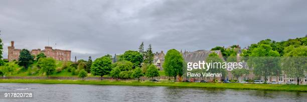 Inverness, a city in the Scottish Highlands lying on the Ness River, where the river enters the Moray Firth.