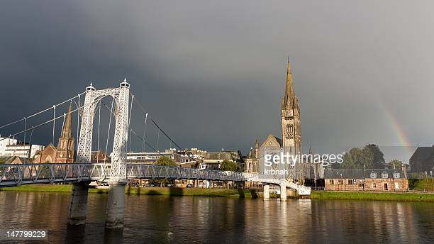Inverness after storm