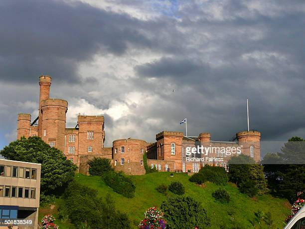 CONTENT] Inverness Castle in Scotland against a dramatic sky