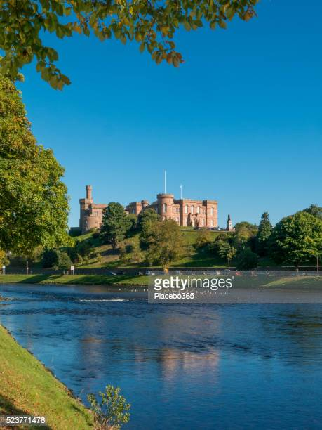 Inverness Castle on the River Ness, Scotland