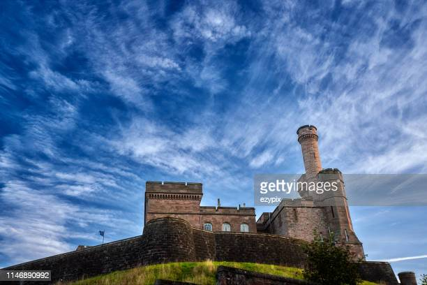inverness castle - inverness scotland stock pictures, royalty-free photos & images