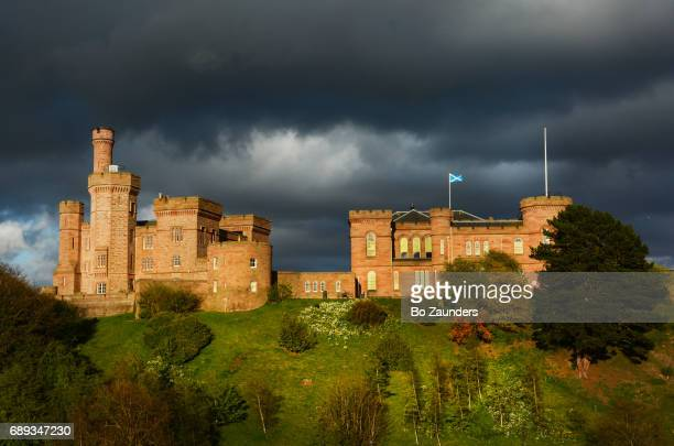 inverness castle, scotland - inverness scotland stock pictures, royalty-free photos & images