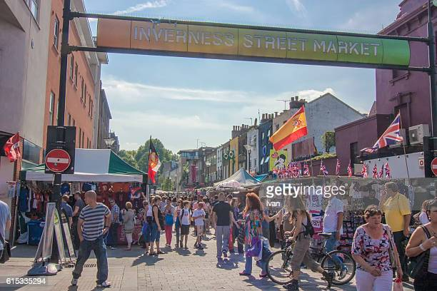 Inverness Street Market, London, UK